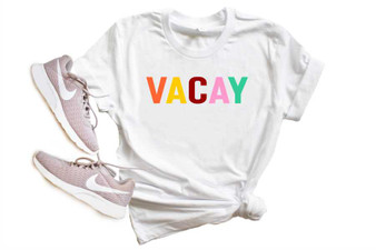 Vacay Softstyle Tee Weekend Tee
