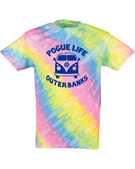 Pogue Life Outer Banks Tie Dye Tee