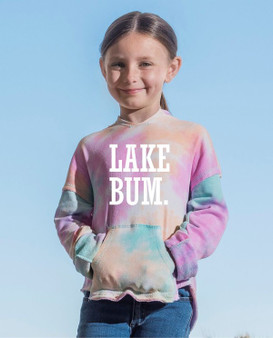 YOUTH  Lake Bum Tye Dye Lightweight Summer Hoodie
