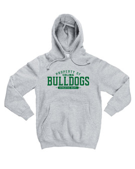 Property of Celina Bulldogs Heavyweight Hoodie