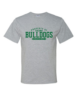 Copy of Property of Celina Bulldogs Short Sleeve Tees