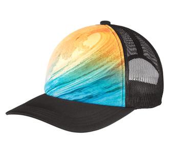Copy of Blank- Waves Snapback Trucker Hat