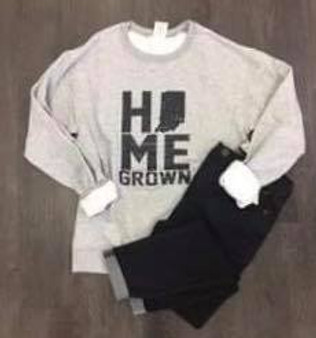 Home Grown ~ Indiana Crewneck Sweatshirt