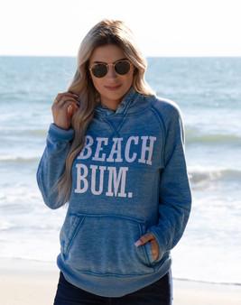 Beach Bum Softstyle Vintage Hoodie