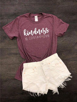 Kindness is Contagious Softstyle Boutique Tee