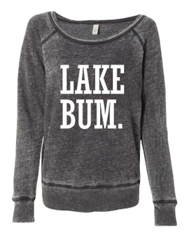 Lake Bum Vintage Summer Crew Neck Sweatshirt
