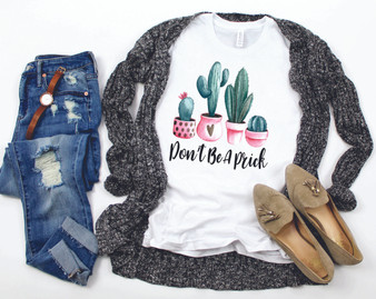 Don't Be A Prick Cacuts Softstyle Tee