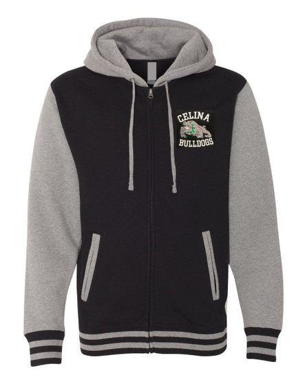 Retro Celina Bulldogs Varsity Jacket
