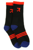 Root Industries Three Stripes Socks Black