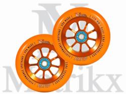 River Wheels Rapids 110mm Sunsets (Orange) (Two Wheels)