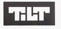 Tilt Sticker Block Logo Black