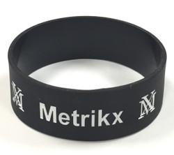 Metrikx Black Biggy Wristband