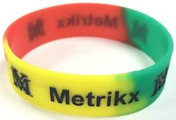 Metrikx Rasta Classic Wristband