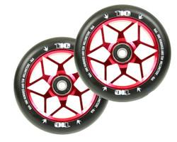 Envy 110mm Wheel Diamond Red (2 Wheels)