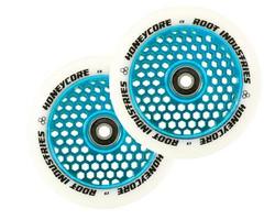 Root Industries Honeycore 110mm Wheels White / Blue