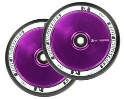 Root Industries Air 120mm Wheels Black / Purple
