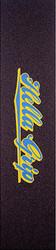 "Hella Grip Classic Logo GripTape - Blue/Yellow 24"" x 6"""