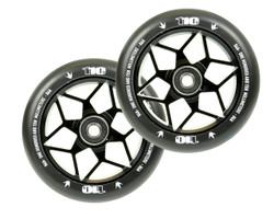 Envy 110mm Wheel Diamond Black (2 Wheels)