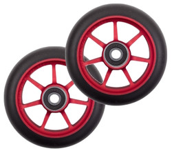Ethic Incube Wheels 100mm Red