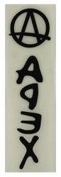 Apex Replacement Bol Bar Decal Sticker Black