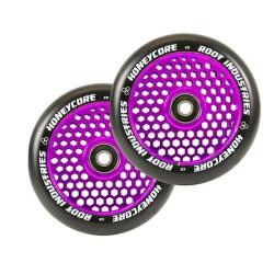 Root Industries Honeycore 110mm Wheels Black / Purple