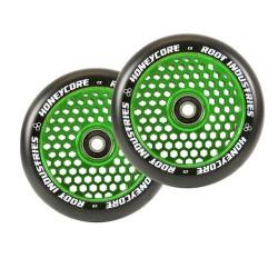 Root Industries Honeycore 110mm Wheels Black / Green