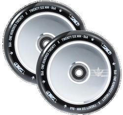 Envy Hollow Core 120mm Wheels Polished Black