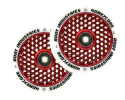 Root Industries Honeycore 110mm Wheels White / Red