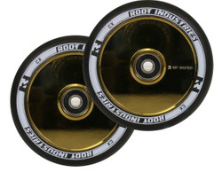 Root Industries Air 120mm Wheels Black / Gold Rush