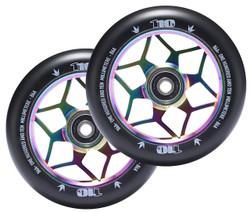 Envy 110mm Wheel Diamond Oil slick (2 Wheels)