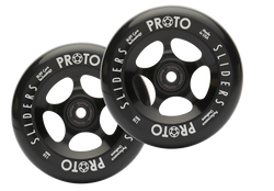 PROTO Slider Wheels 110mm (Black on Black)