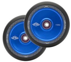 AO Helium 110mm Wheels Blue