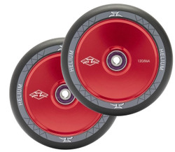 AO Helium 120mm Wheels Red