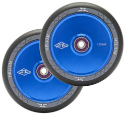 AO Helium 120mm Wheels Blue