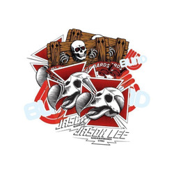 Blind Dodo Skull Lee Sticker Pack (10)