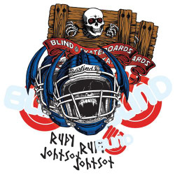 Blind Jock Skull Johnson Sticker Pack (10)