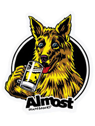 Almost Brew Single Sticker