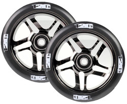 Envy 5 Spoke Wheels 120mm Black/Chrome/Black