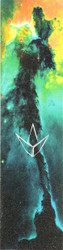 Envy Galaxy Aqua Sky Griptape