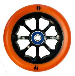 Havoc 110mm 8 Spoke Wheel  Orange/Black