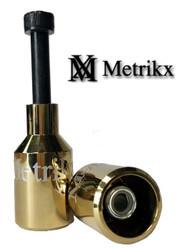 Metrikx Thunder Pegs Gold With Black Axle
