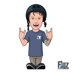 FIGZ Stickers - Clayton Lindly