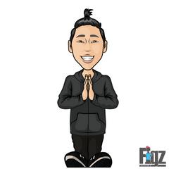FIGZ Stickers - Sogo Sakakibara V1
