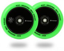 Root Industries Radiant Air 110mm Wheels Green/Black