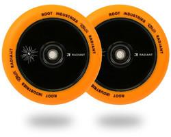 Root Industries Radiant Air 110mm Wheels Orange/Black