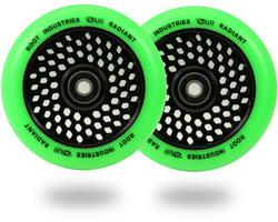 Root Industries Radiant Honeycore 110mm Wheels Green