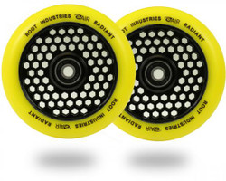 Root Industries Radiant Honeycore 110mm Wheels Yellow