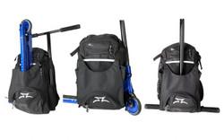 AO  scooterTransit Backpack Black/White