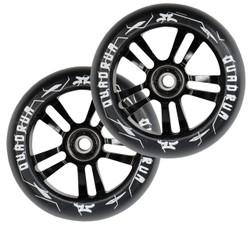 AO Quadrum 110mm Wheels Black