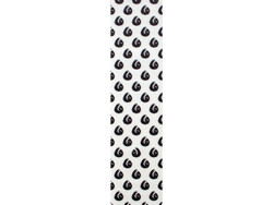 Hella Grip-Sloth Dot Black On White Griptape Formula-W